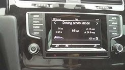 Driving School Mode VCDS Vagcom tweak VW Golf R
