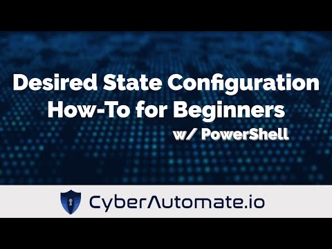 PowerShell Desired State Configuration (DSC) How-To for Beginners (Push Model)