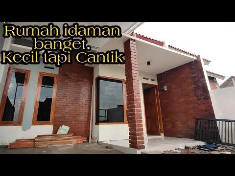 rumah minimalis modern klasik, tanah 6x14 meter - youtube