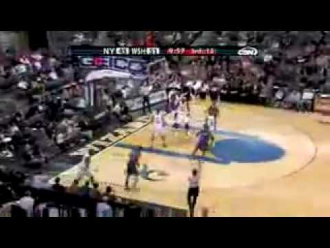 Washington Wizards beat the Knicks, 09 season