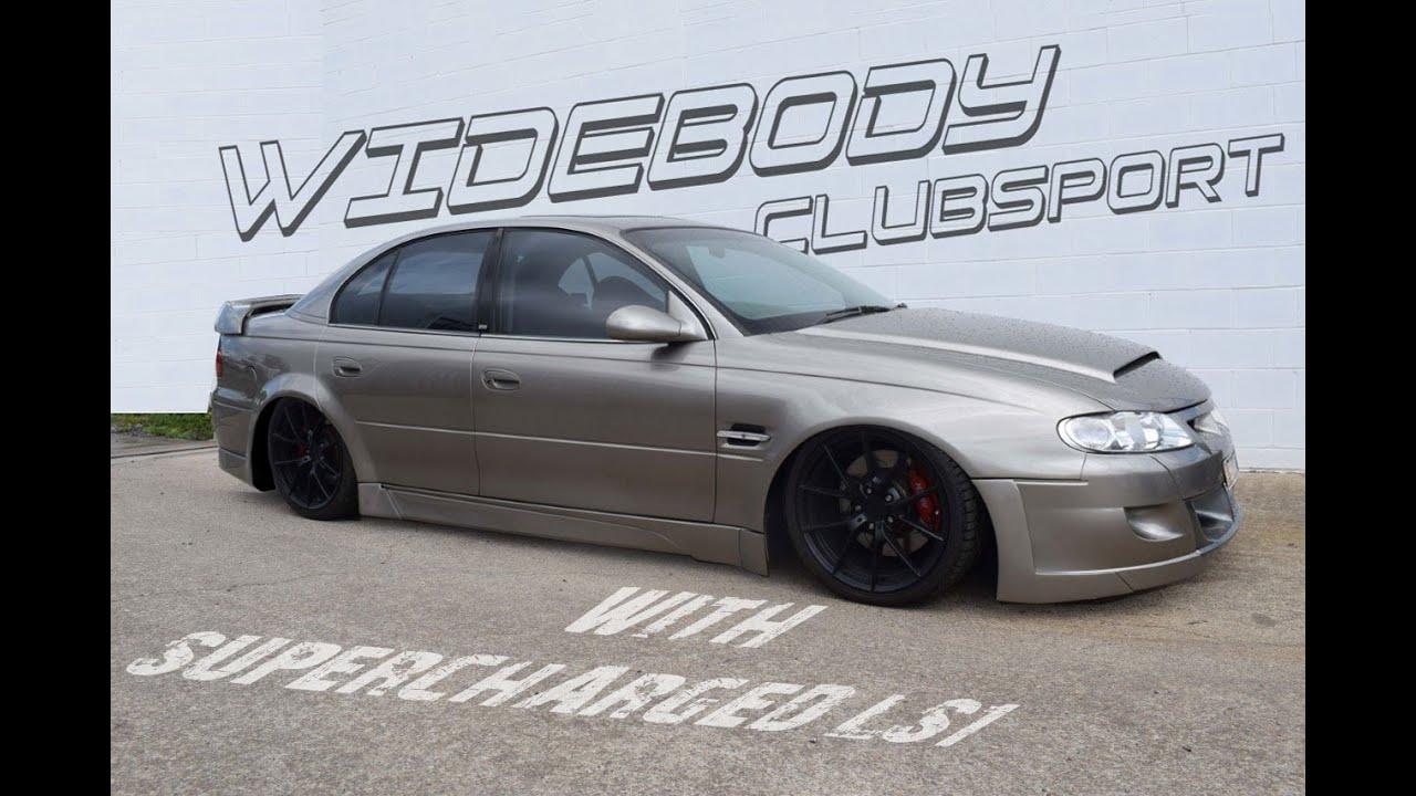 Wide Body CLubsport R8