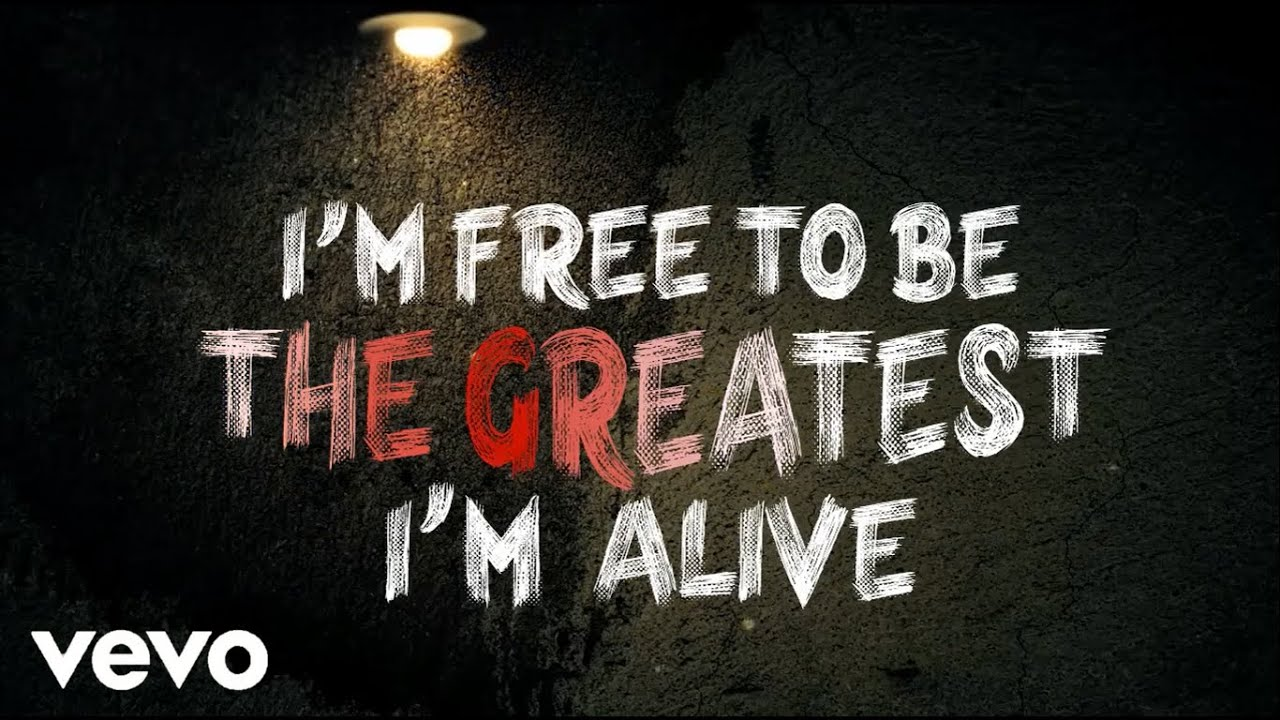 Sia The Greatest Ft Kendrick Lamar Official Lyric Video Lyric Translations