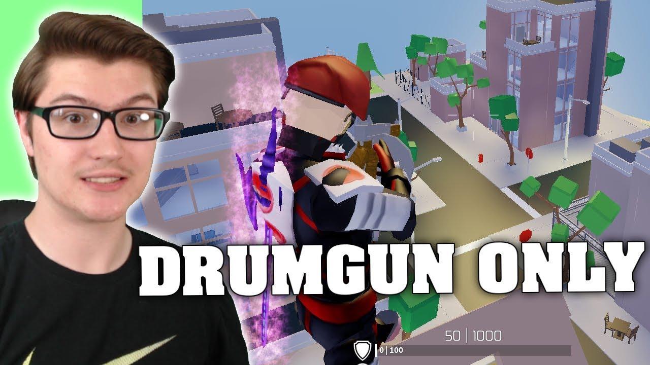 I USED DRUMGUN ONLY IN STRUCID! (ROBLOX FORTNITE) - YouTube