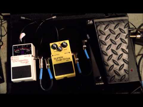 John McEntee  (Incantation & Funerus) Guitar effects and pedals