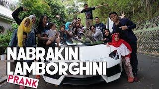 Video NABRAKIN LAMBORGHINI Raffi Ahmad (PRANK) download MP3, 3GP, MP4, WEBM, AVI, FLV Desember 2017