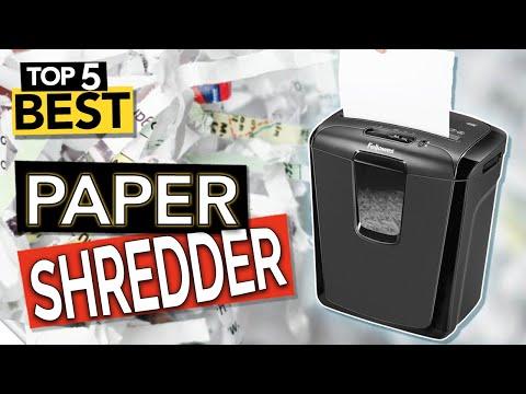 ✅ TOP 5: Best Paper Shredder 2020 (Budget & Portable)