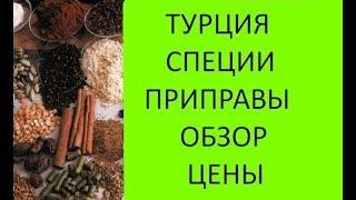 Приправы и специи в Турции. Обзор, цены в Турции, ассортимент. Meryem Isabella