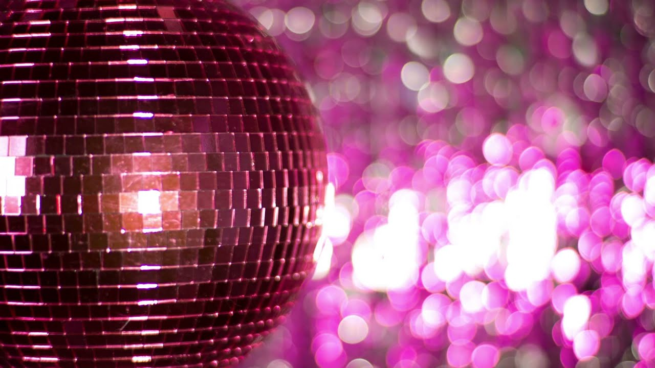 You Are The Dancing Queen With This Pink Disco Ball