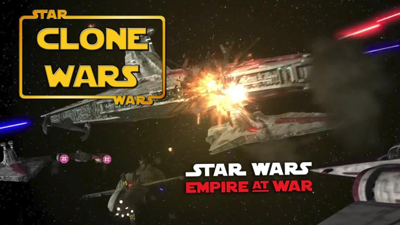 Star wars empire at war clone wars