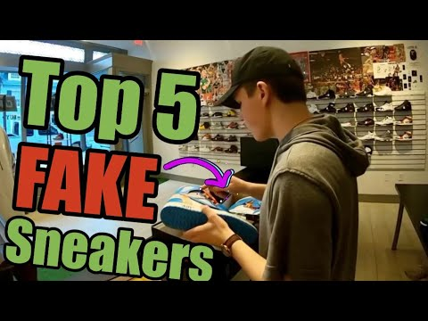 Top 5 Fake Sneakers Customers Tried To Sell Me!