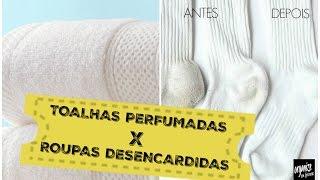 TOALHAS PERFUMADAS POR MAIS TEMPO X ROUPAS E MEIAS DESENCARDIDAS