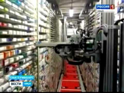 видео: РобоСклады обслуживают покупателей в аптеках «Живика»