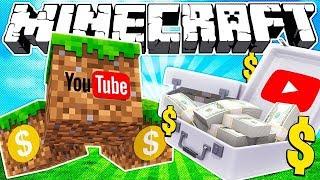 Если бы YouTube купил Майнкрафт | Майнкрафт машинима