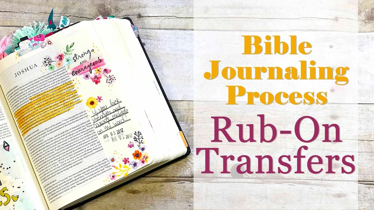 how to make rub on transfers
