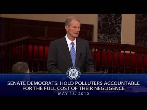Senate Democrats: Hold Polluters Accountable for the Full Cost of Their Negligence