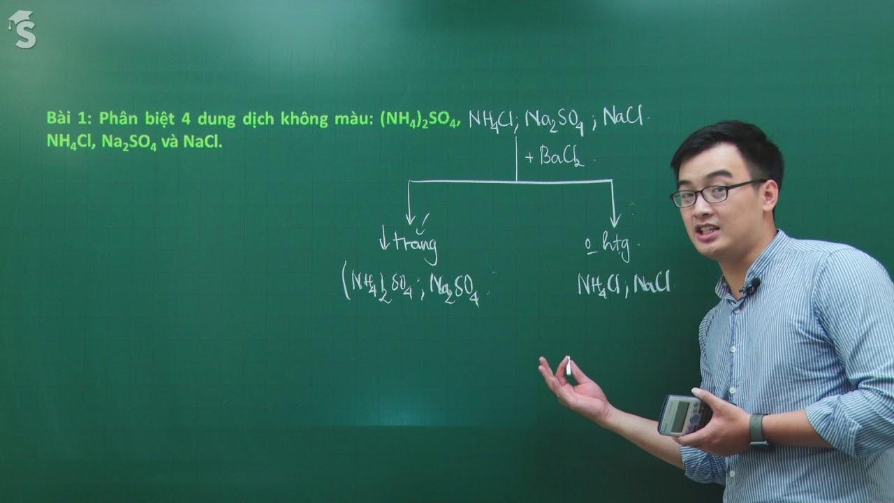 Ôn tập giữa học kì 1 – Hóa học 11 – Giáo viên : Phạm Thanh Tùng