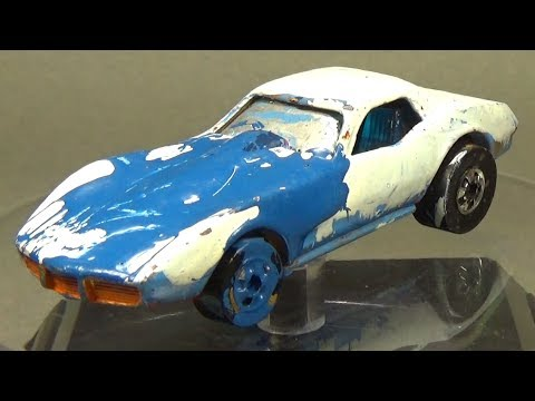 Hot Wheels Restoration 1980's Corvette Stingray