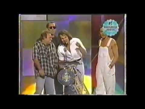 Van Halen anuncia reunião frustrada em 1996/ Van Halen anounces frustrade reunion in 1996