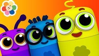 Colores en Español para Niños | Huevos Sorpresa | Musica Infantil y Canciones para Niños | BabyFirst