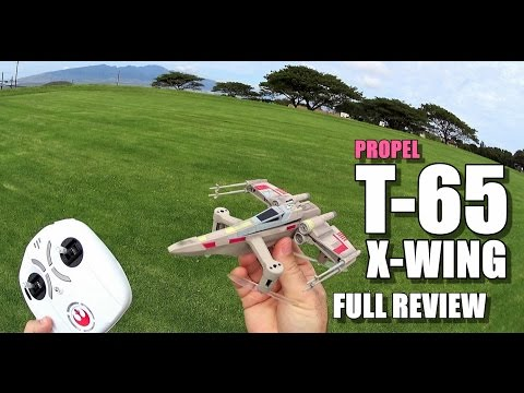PROPEL STAR WARS T-65 X-WING Review - [Unbox / Inspection /