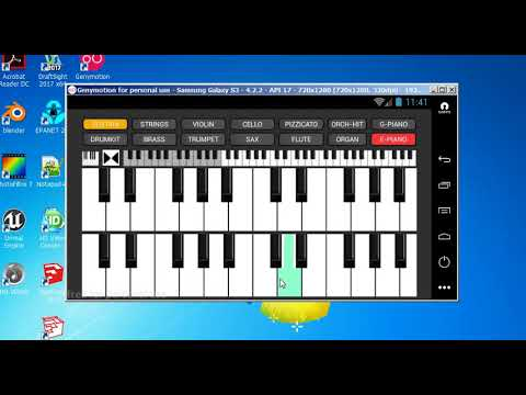 Strings And Piano Keyboard Electric Piano Sound Demo