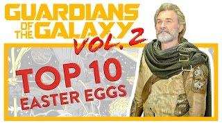 • GOTG 2 TOP 10 EASTER EGGS • + credit scenes | Spoilers !!! #6