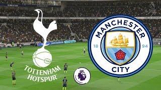 Premier League 2018/19 - Tottenham Vs Manchester City - 29/10/18 - FIFA 19
