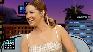 Ashley Tisdale Wasn't Afraid to Flex Her Disney VIP Status