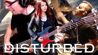 DISTURBED - The Light [INSTRUMENTAL COVER] by Jassy J, WhiteSlash, LightningJoker & metaldrummer47