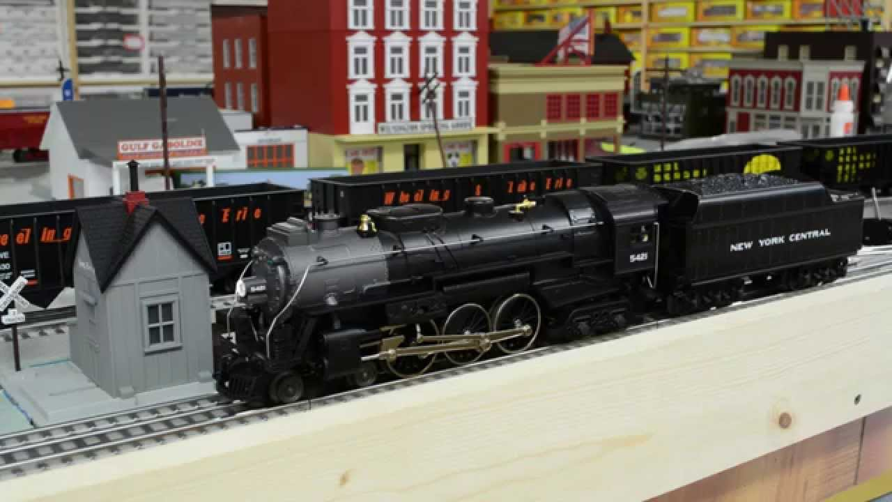Lionel Lionchief New York Central Hudson Review Youtube