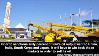 Iran Oil Drives Ruble Downward