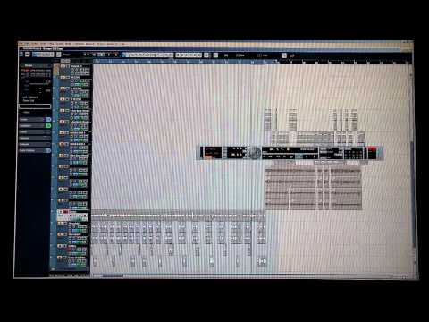 Audio Mixing Tutorial - Nuendo 4 - Live Recording - SiRySs Da KiNg [Recording & Mixing Process]