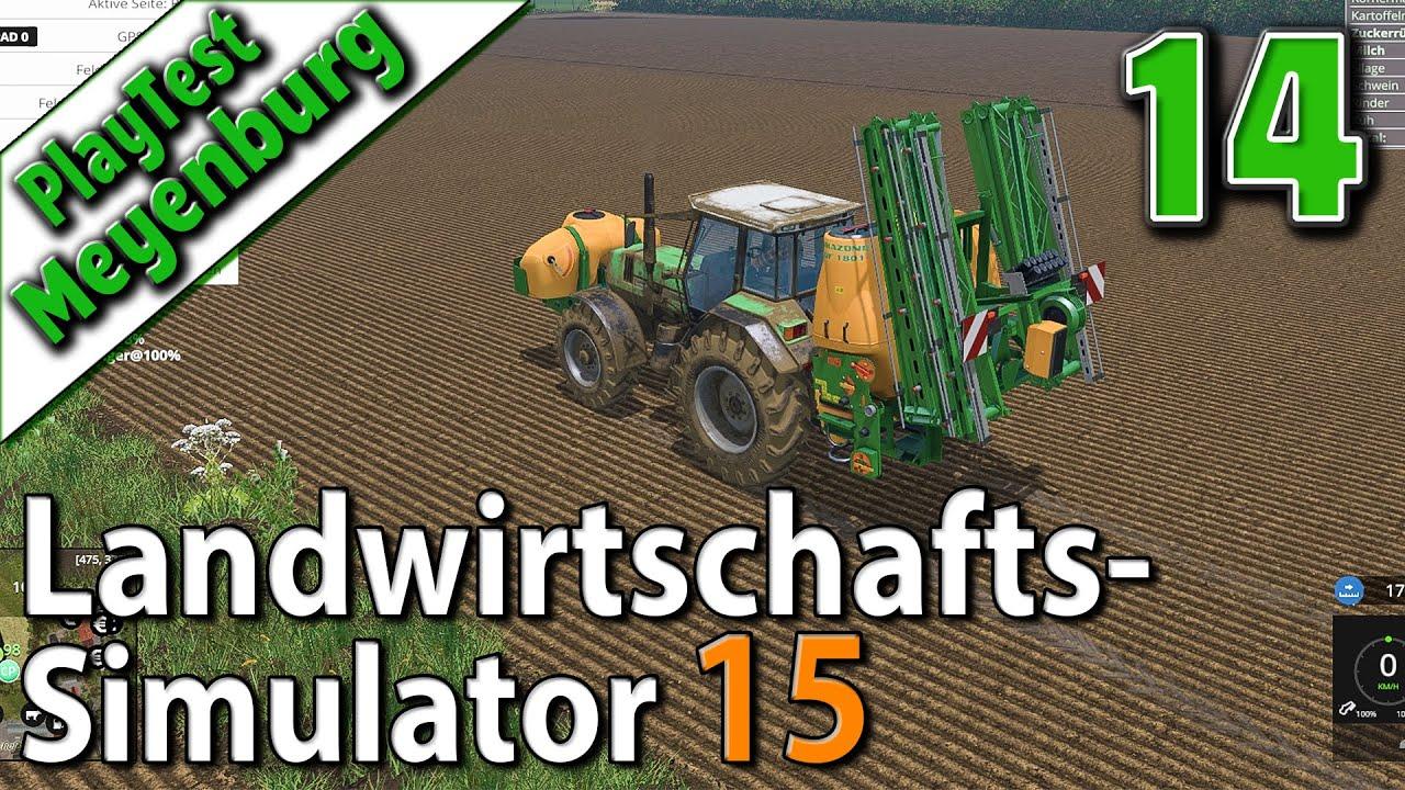 ls15 in meyenburg 14 unkraut bek mpfen landwirtschafts simulator 15 deutsch hd youtube. Black Bedroom Furniture Sets. Home Design Ideas