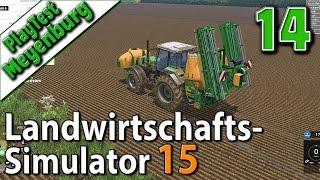 LS15 in Meyenburg #14 Unkraut bekämpfen Landwirtschafts Simulator 15 deutsch HD