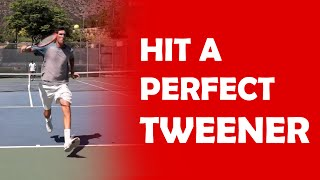 Hit A Perfect Tweener  TRICK SHOTS