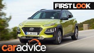 2018 Hyundai Kona First Look CarAdvice