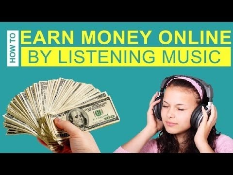 make money with music online how to earn money online by listening to music top 5 1416