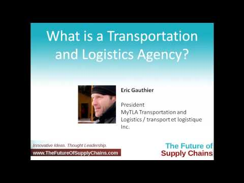 What is a Transportation and Logistics Agency?