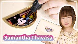 サマンサタバサのバッグをレジンでディズニー風ステンドグラスに…!! Samantha Thavasa