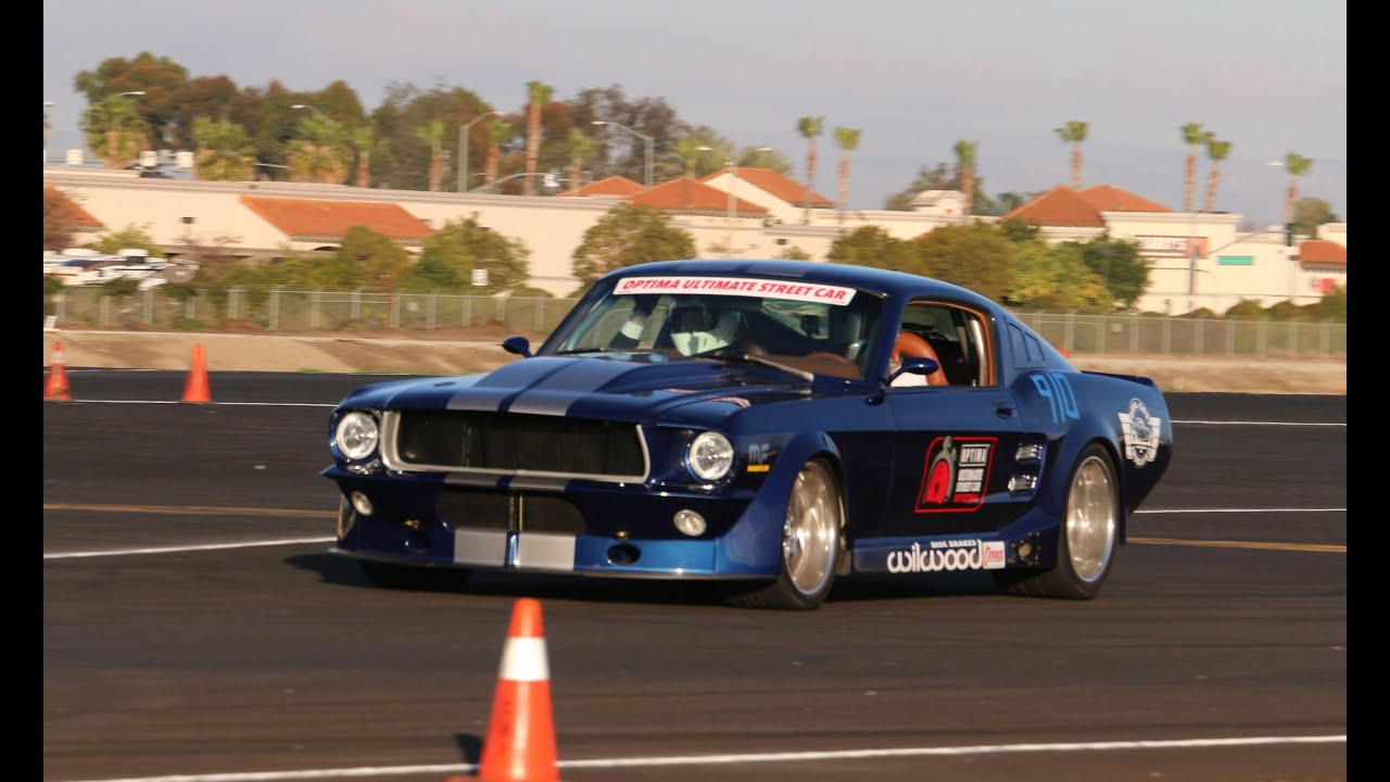 Mike Maier Drives The Tci Mustang Camarillo Airport
