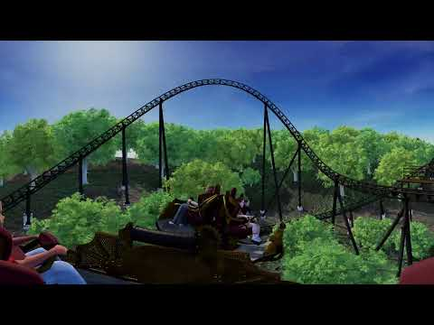 Time Traveler 360 Animation - Coming Spring 2018 To Silver Dollar City