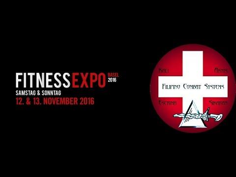 Fitness Expo Basel 2016 - FcsKali - Filipino Combat Systems