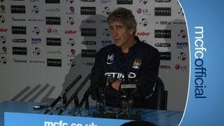 PREVIEW: Pellegrini Preview Aston Villa v City P2