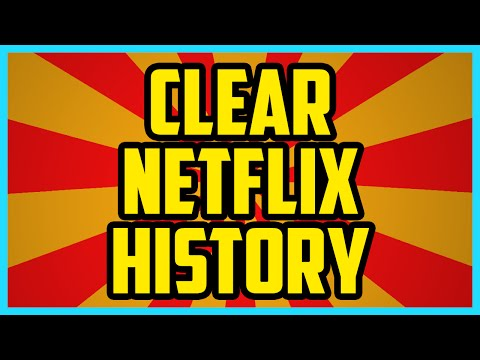 HOW TO CLEAR NETFLIX RECENTLY WATCHED 2016  How To Clear Netflix Viewing History