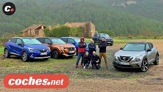 Juke, Captur, 2008, Kamiq, Renegade 2020 | Comparativa SUV B / Test / Review en español | coches.net