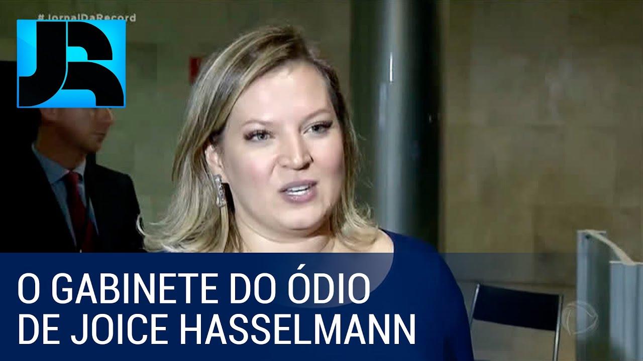 "Deputada Joice Hasselmann mantém ""gabinete do ódio"" para atacar adversários políticos na i"