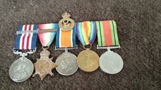 Herts at War - WW1 British Medals - Bill
