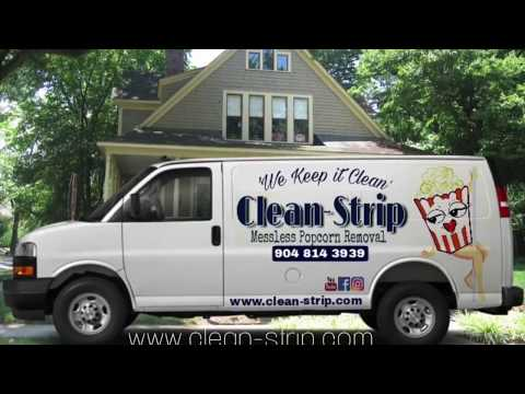 What is Clean Strip Messless Popcorn Removal?