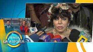 ¡NO HUBO BODA! Verónica Castro desmintió una supuesta boda con Yolanda Andrade. | Venga La Alegría