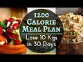 Indian Meal Plan To lose Weight Fast | Diet Plan For Weight loss | Lose 20 lbs in 10 days